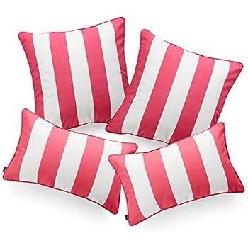 Amazon Com Hofdeco Indoor Outdoor Pillow Cover Only