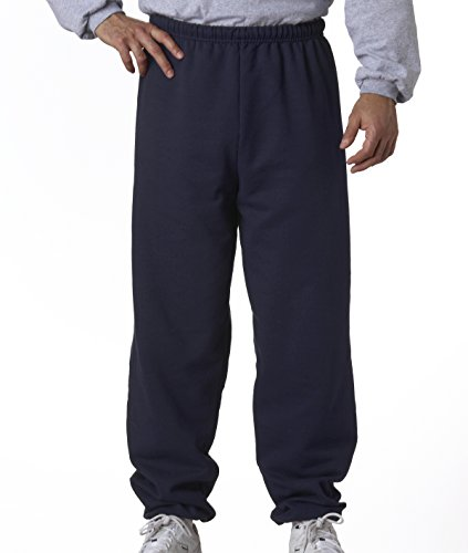 Midweight Sweatpants (Jerzees Men's 973 NuBlend Midweight Adult Sweatpants, J NAVY, Large)