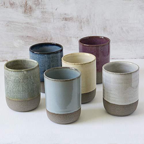 Ceramic Colorful Tumbler, 10 Fluid Ounces