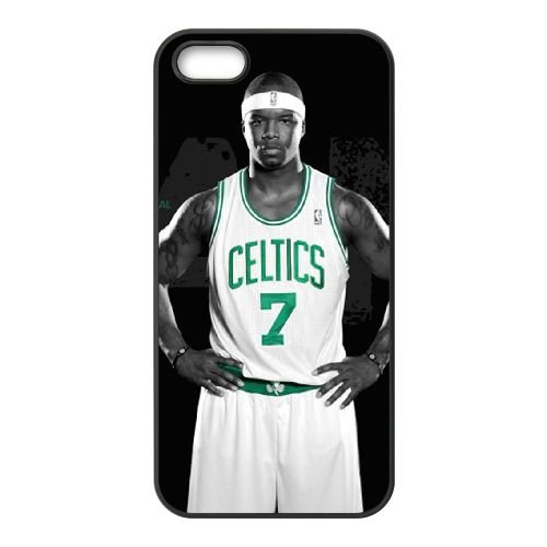 Jermaine Oneal coque iPhone 5 5S cellulaire cas coque de téléphone cas téléphone cellulaire noir couvercle EOKXLLNCD24769