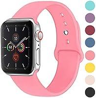 コンパチブル Apple Watch バンド Series5/4/3/2/1 スポーツシリコンストラップ シリコン アップルウォッチ バンド JP81009