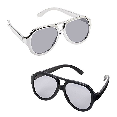 Glasses Rock Star (Rock Star Theme Party Costume Ideas)