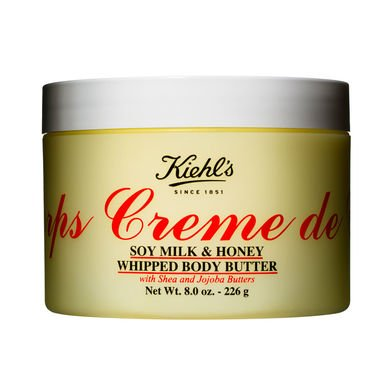 Kieh'ls - Creme de Corps Soy Milk & Honey Whipped Body Butter 12oz-340g (Body Creme Lotion)