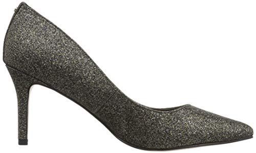 Marci Women's Glitter Pointed BCBG Pump Toe Black Gold Generation w58t8qxzE