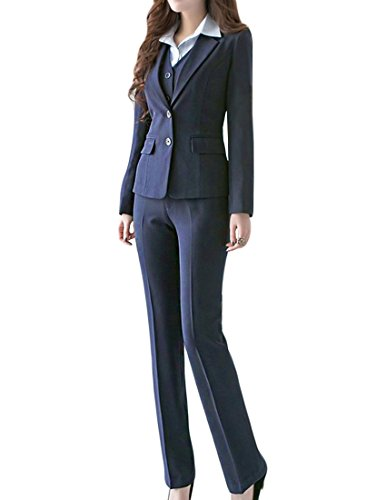 Mfrannie Womens Business Office Blazer Features