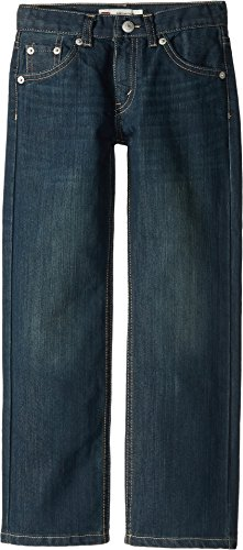 Levi's Boys' 505 Regular Fit Jeans, Cash, 5