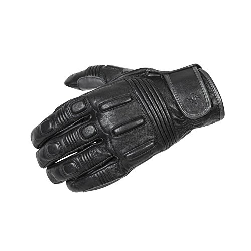 Scorpion Bixby Leather Motorcycle Gloves Black Small