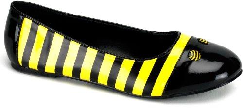 Funtasma BEE-16 Blk-Yellow Pat Size UK 6 EU 39