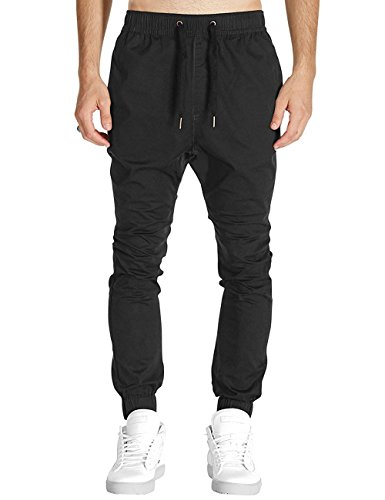 Twill Jogger Chinos Pants Stretch