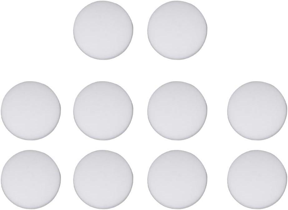 VOSAREA 20 St/ück Silikon-Wandschutz Selbstklebender Sto/ßschutz Runde Wand T/ürstopper