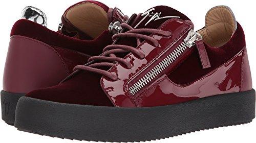 Giuseppe Zanotti Men's May London Low Top Velvet Sneaker for sale  Delivered anywhere in USA