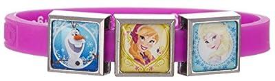 Disney Frozen Girls Sisters & Olaf Charm Bracelet