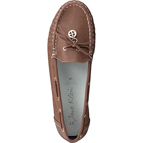 Klain 3 avec Mocassins en bois Dames 242 Jane Chaussures Noeud 537 Un Couleurs gdqnv6Z