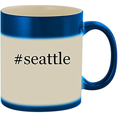 #seattle - 11oz Ceramic Color Changing Heat Sensitive Coffee Mug Cup