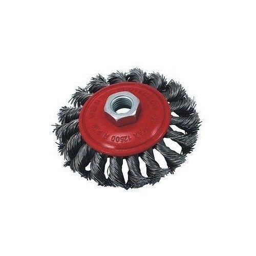 Brosse circulaire à fils M14BROSSE BROSSE conique tresse Brosse pour meuleuse d'angle ø 125 GEKO G00607