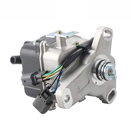 Honda Prelude Distributor Rotor - MOSTPLUS New Ignition Distributor for 97-01 Honda Prelude H22A External Coil Casting TD-77U