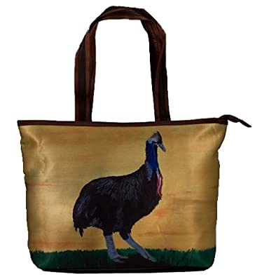 Amazon.com: Cassowary bolso de mano, bolsa de bolsa grande ...