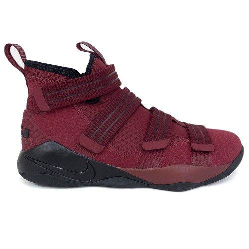 Nike(ナイキ) LEBRON/レブロン LeBron James シューズ/バッシュ LEBRON SOLDIER XI SFG レブロン ソルジャー (Red/Black) B07D29MPZJ