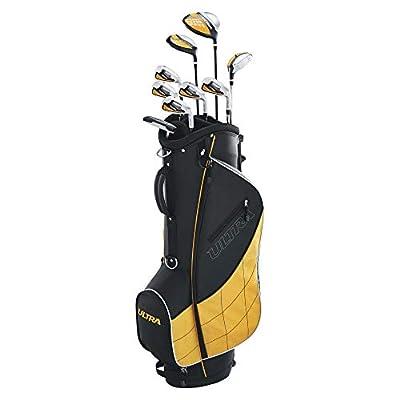 Wilson Golf Men's Ultra Complete Package Set, Black (Renewed)