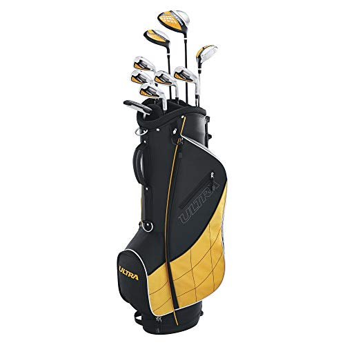 (Wilson Golf WGGC43000 Mens 2017 Ultra Package Set, Right Hand, Black (Renewed))
