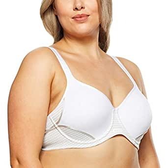 Berlei Women's Underwear Microfibre Electrify Contour Sports Bra SF2, White, 8A