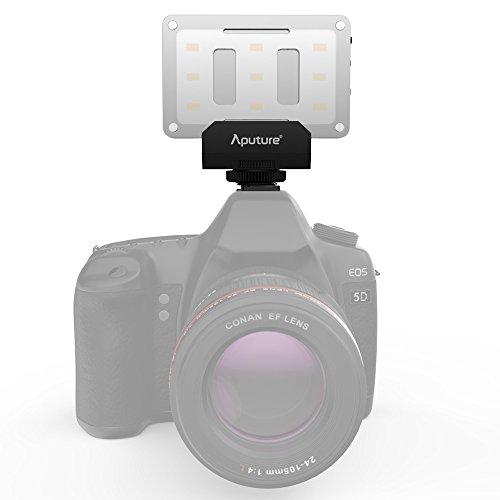 Aputure-AL-M9-Amaran-LED-Mini-Light-on-Camera-Video-Light-Black