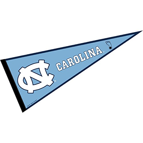 (College Flags and Banners Co. North Carolina Tar Heels Pennant Full Size Felt )