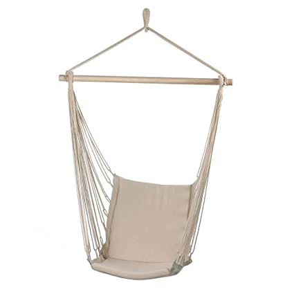Malibu Creations Cotton Padded Swing Chair Hammock