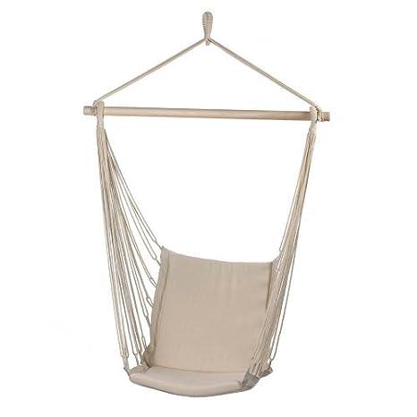 Malibu Creations Cotton Padded Swing Chair Hammock