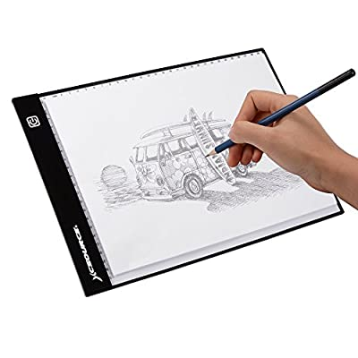 XCSOURCE Ultra-thin A4 LED Light Box Artist Artcraft Drawing Board Tracing Tattoo Copy Table Pad with Brightness Adjustable XC701