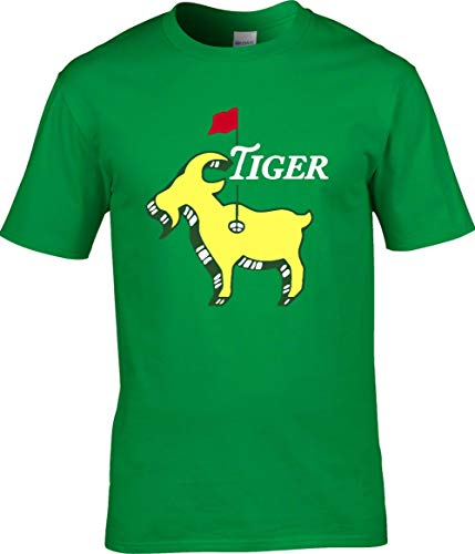 Green Tiger The Masters Champion Goat T-Shirt Adult ()