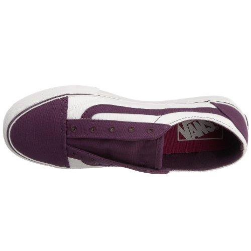 Vans Old Skool - Zapatillas, color Shadow Purple/True White, talla 38.5