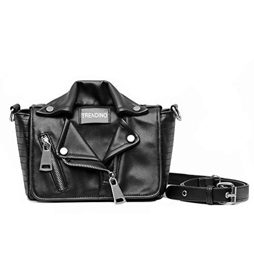 (Shoulder Bag for Women Cross Body Adjustable Long Strap PU Leather Messenger Medium Size Cool Designer Bag)