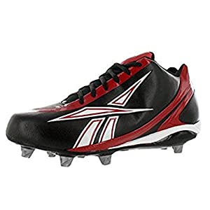 Reebok NFL Burner Speed 5/8 SD3 Football Shoes Black/Red/White 12