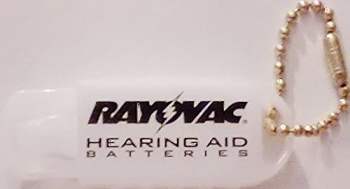 (Rayovac Hearing Aid Battery Caddy with Keychain)
