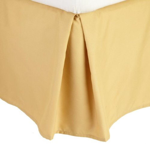 yellow dust ruffle full size - 2
