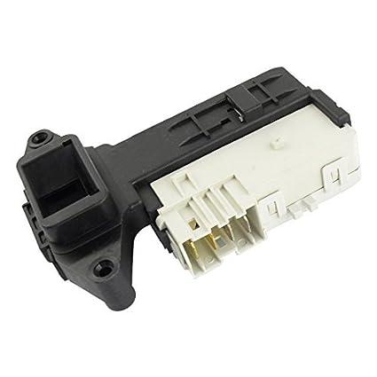 Interruptor Negro Blanco Lavadora bloqueo de la puerta de ...