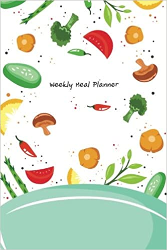 meal planner meal planning calendar with grocery list food
