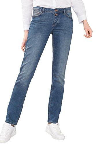 ESPRIT 106ee1b008, Jeans Mujer Azul (Blue Medium Wash)