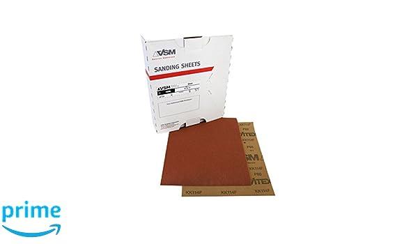 Aluminum Oxide 150 Grit 9 x 11 VSM 79765 Abrasives Cloth Sheet Pack of 50
