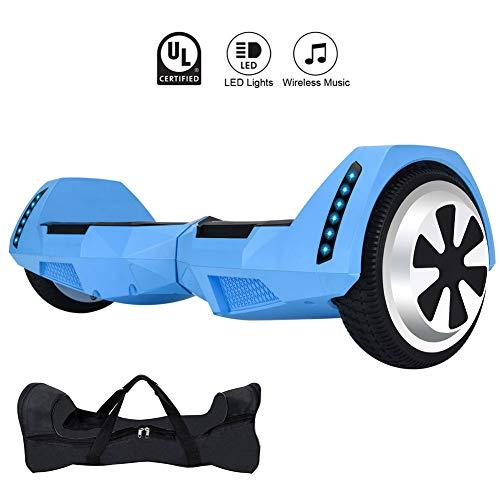 Amazon.com: CXM Hoverboard UL 2272 patinete eléctrico de 2 ...