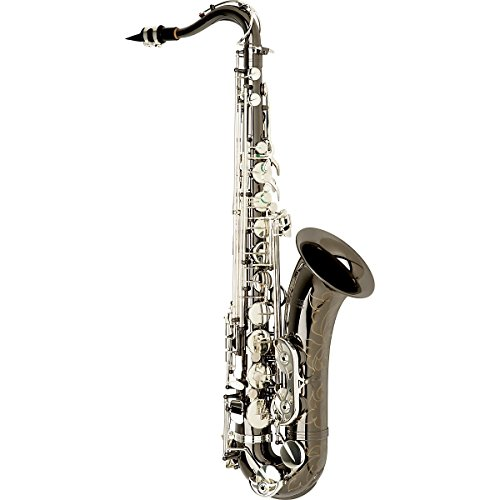 Allora Paris Series Professional Tenor Saxophone AATS-805 - Black Nickel Body - Silver Plated Keys (Red Tenor Saxophone compare prices)