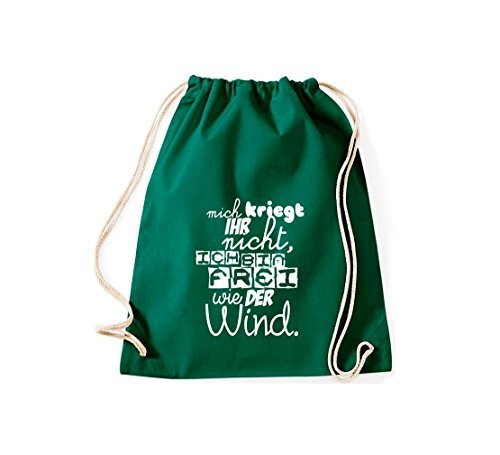 Shirtstown - Bolso de tela de algodón para mujer gruen