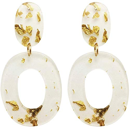 Lucite Beaded Earrings - 6