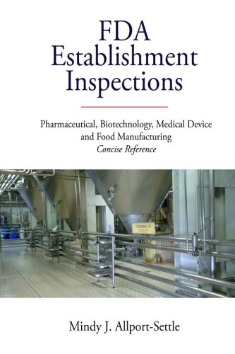 FDA Establishment Inspections: Pharmaceutical, Biotechnology, Medical Device and Food Manufacturing Concise Reference