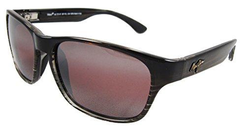 Maui Jim Mixed Plate Polarized Sunglasses - Women's Chocolate Stripe Fade / Maui Rose One Size