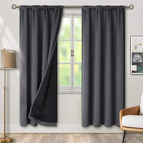BGment Thermal Insulated 100 Blackout Curtain