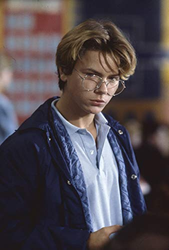 River Phoenix in Glasses Original Color 35mm Photo Transparency Slide from Silverscreen