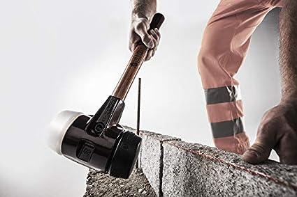 mit Stahlgussgeh/äuse und hochwertigen Holzstiel SIMPLEX-Schonh/ämmer 3027.080 /Ø=80 mm