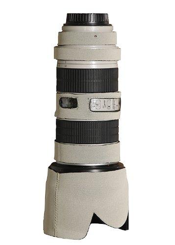 LensCoat Lens Cover for Canon 70-200IS f/2.8 Neoprene Camera Lens Protection Sleeve (Canon White)